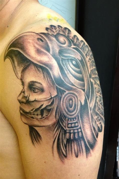 aztec warrior skull tattoo designs 100 best aztec images on ancient mexico