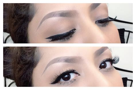cara bikin bulu alis tips memakai eyeliner bulu mata palsu update cara