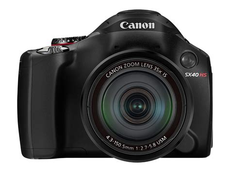 canon powershot sx40 hs super zoom digital camera features