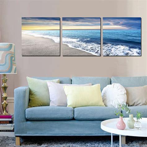 3 piece living room design with modern home design ideas 3 piece home decoration modern art painting seascape sea