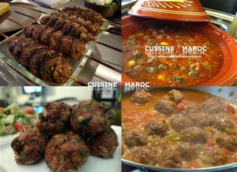 viande cuisin馥 viande recettes de viandes marocaines