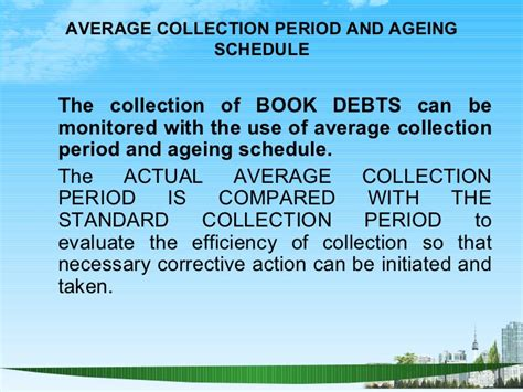Mba Debt Collection by Working Capital Ppt Bec Doms Bagalkot Mba