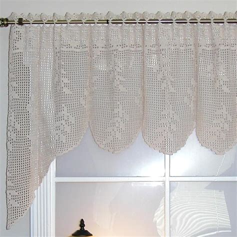 curtain valance patterns 24 simple looking patterns for crochet curtains patterns hub