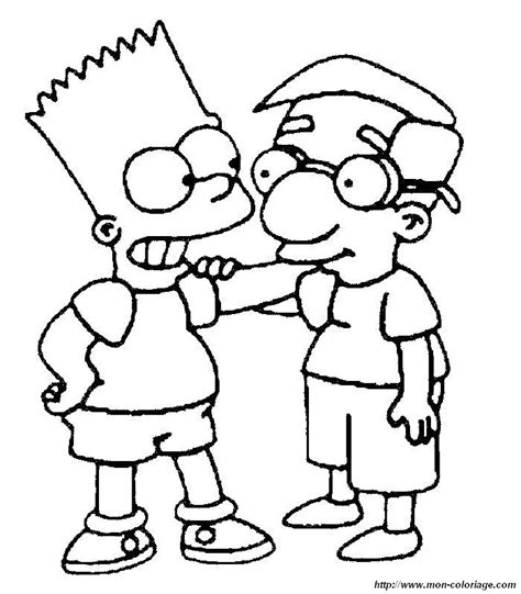 The Simpsons 04 ausmalbilder die simpsons bild simpsons 04