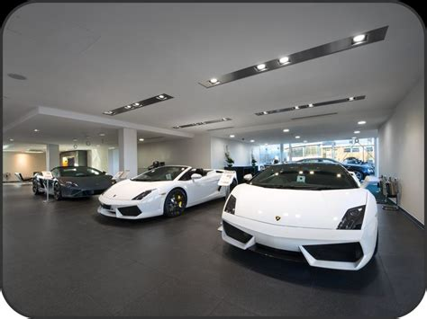 Modern Industrial Office car showroom lighting design pictures inspirational pictures