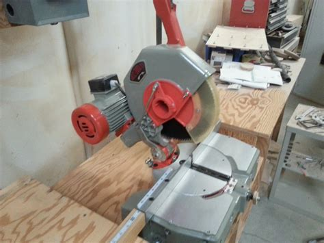 Omga 2 2hp Precision Mitre Chop Saw Woodweb S Machinery