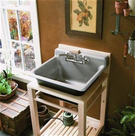 kohler bayview wood stand utility looking to remodel your laundry room here s a few reasons
