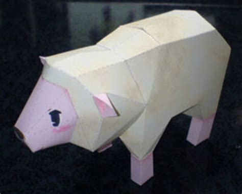 Papercraft Sheep - had a papercraft paperkraft net