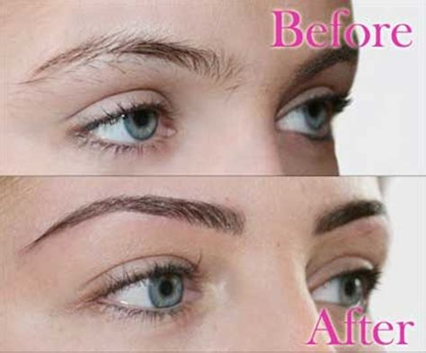 tattoo eyebrows at home correct eyebrow shaping