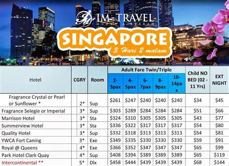 Paket Tour Singapore Malaysia 4h3m Include Tiket Pesawat Paket Wisata Indah Umroh Dan Haji