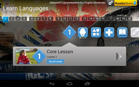rosetta stone za android learn languages rosetta stone android apps on google play