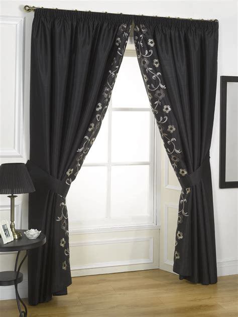 black and cream drapes black cream curtains image search results