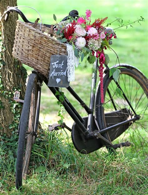 Wedding Bouquets Yeovil by 142 Best Vintage Bicycles Bikes And Flowers Images On