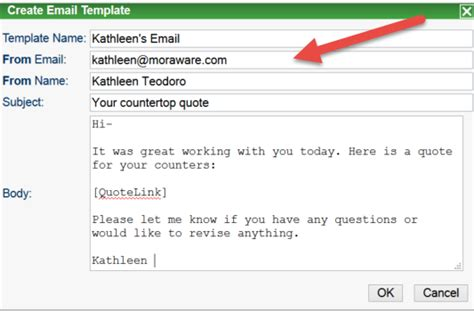 Change Email Reply To Address Subject Moraware Countergo Jobtracker Help Name And Email Template