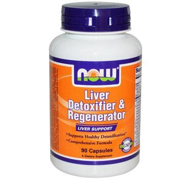 Vitamins For Detoxing The by Liver Detoxifier And Regenerator 90 Capsules Now Brand