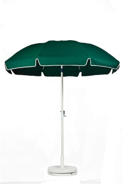 Commercial Grade Patio Umbrellas 7 1 2 Diameter With Vent Valance Forest Green Patio Commercial Outdoor Umbrella Crank With