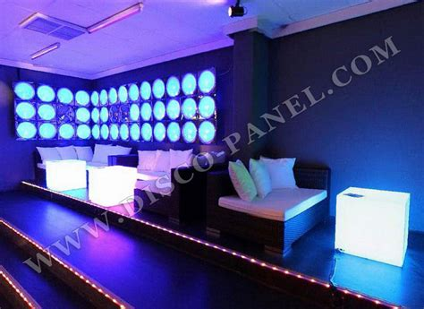 Club Couches by Nightclub Furniture Led Lighted Cube Tables Led