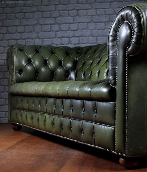 vintage chesterfield leather sofa antiques atlas vintage leather chesterfield sofa