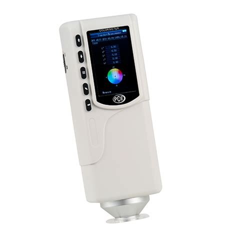digital color meter color meter pce csm 4 pce instruments