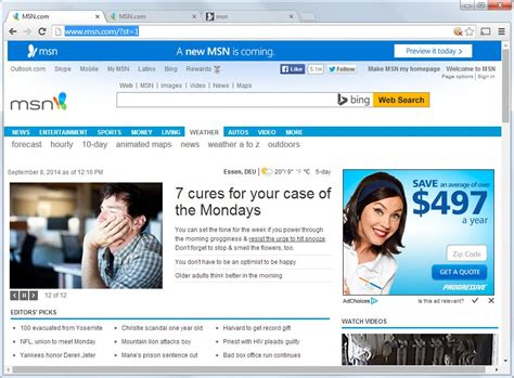 Msn Home by Image Gallery Keep Msn Homepage