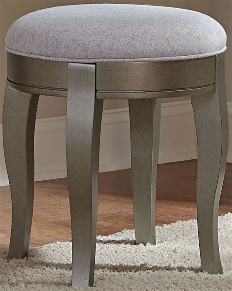 Writing Desk With Stool by Kensington Antique Silver Writing Desk With Hutch Stool