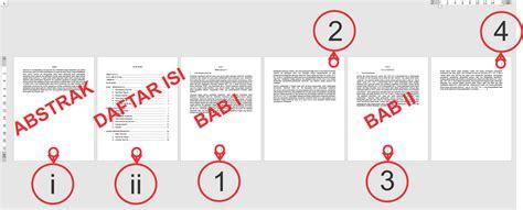 cara membuat nomor halaman karya ilmiah cara membuat nomor halaman dengan format dan posisi yang