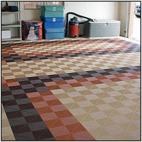 floor tiles layout idea garage floor tiles home design ideas