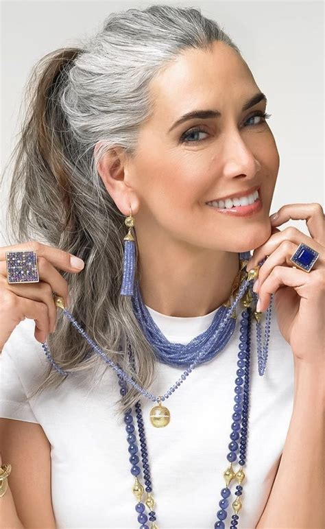 transition to grey hair styles for long hair best 25 gray hair ideas on pinterest gray silver hair