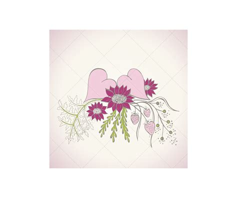 Wedding Vector by Wedding Vector Beautiful Floral Hearts For Wedding