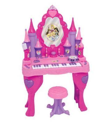 Disney Vanity by Disney Princess Keyboard Vanity For Only 15 Reg 100