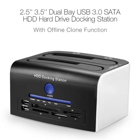 Original Usb 3 0 3 Bay 2 5 3 5 Hdd Station usb 3 0 to dual sata drive hdd station 6gbps 2 5 quot 3 5 quot ebay