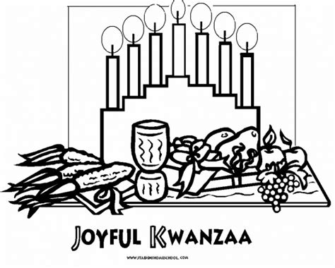 free kwanzaa coloring pages for kids kwanzaa printables