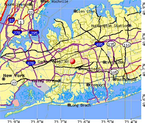Garden City Ny To Nyc Garden City New York Ny Profile Population Maps Real
