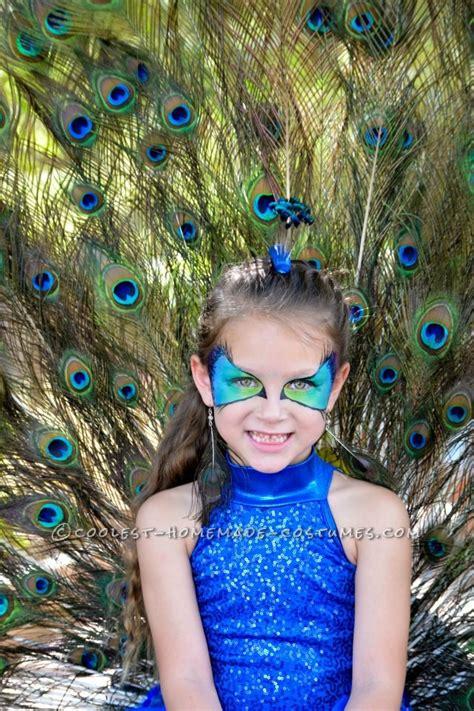 Handmade Peacock Costume - best peacock costume for a six year