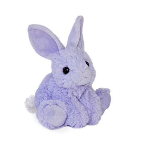 Purple Rabbit 8 quot plush purple rabbit easter bunny mini flopsie