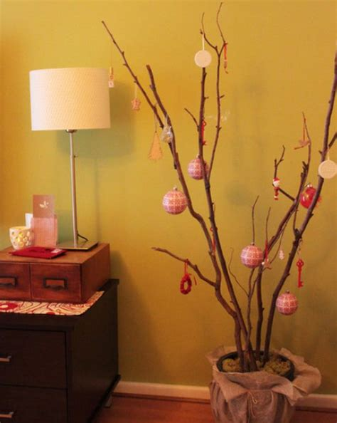 twig tree home decorating stylish christmas decorations that you can make for yourself