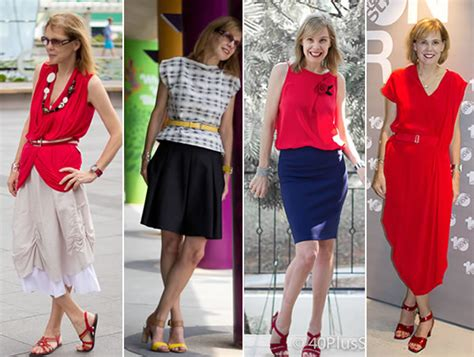a well dressed 50 year old woman what is the perfect skirt length and skirt type for women