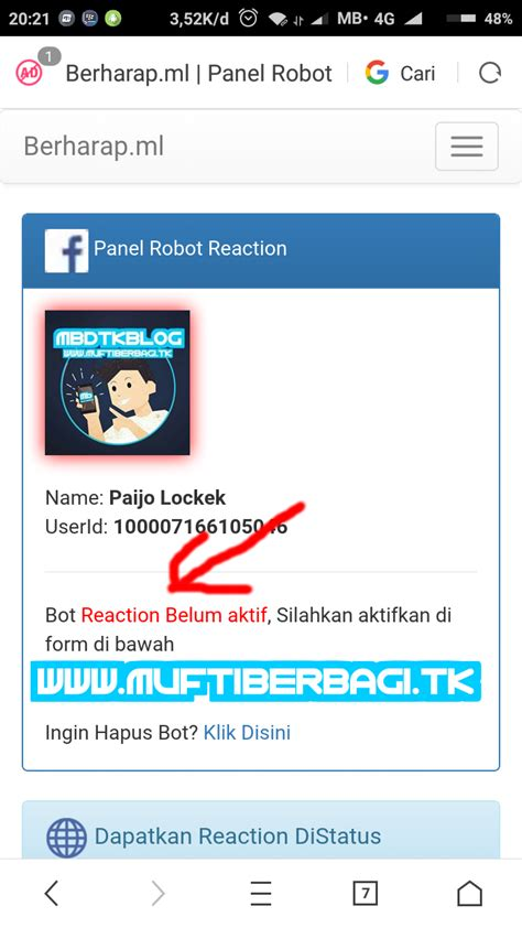 fb reaction bot site tutorial to enable bot auto reaction bot like facebook
