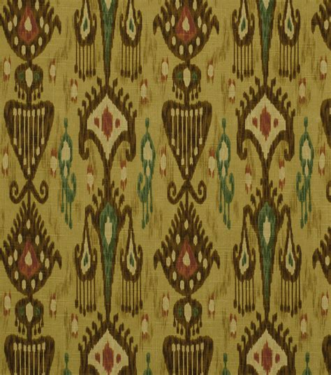 robert allen home decor fabric home decor print fabric robert allen khanjali adobe jo ann