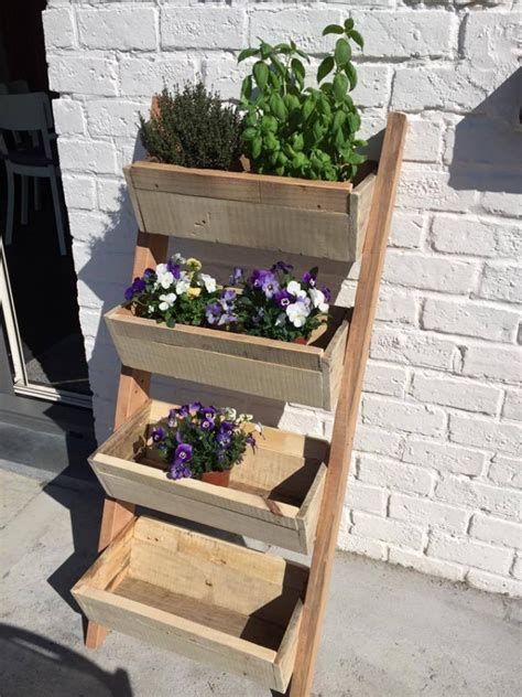 repurposed pallet planter pallet ideas recycled