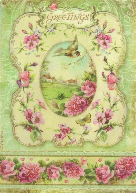Decoupage Paper Ideas - 735 best decoupage kwiaty images on decoupage