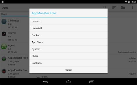 restore apps android appmonster pro backup restore android apps on play