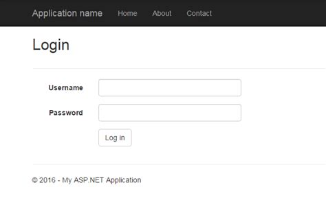 Using OWIN and Active Directory to authenticate users in ... Login Asp