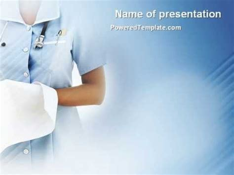Nurse Powerpoint Template By Poweredtemplate Com Youtube Nursing Powerpoint Templates