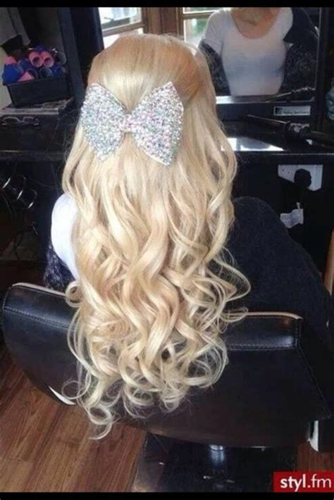 prom hairstyles with hewels 9 best long hairstyles with bow styles at life