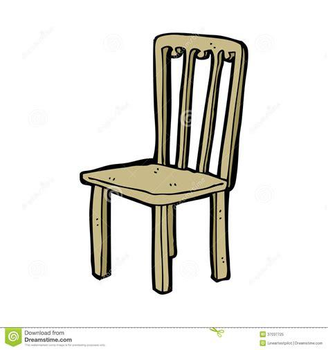 stuhl clipart alter stuhl der karikatur lizenzfreies stockfoto bild