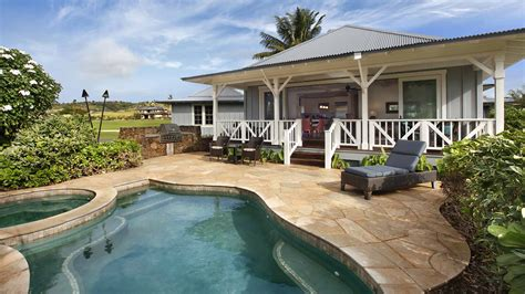 kauai cottage rentals new kauai cottage with pool poipu rental at