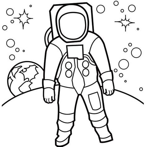 Astronaut Pictures For Kids Cliparts Co Astronaut Coloring Pages