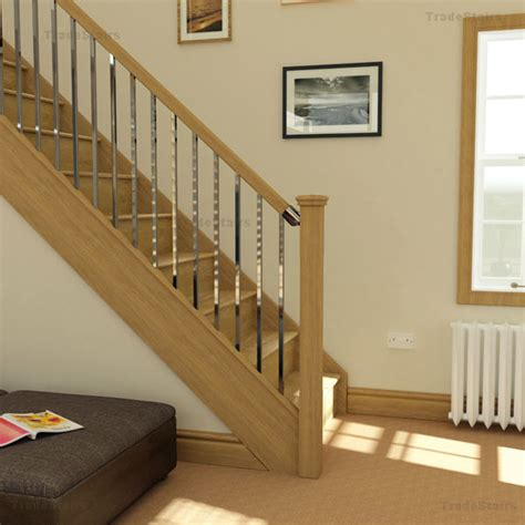 oak banister axxys2 stairparts chrome handrail fittings axxys balustrading
