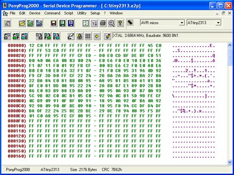 Memory 24c16 Smd estudando e praticando eletr 244 nica gravador de eeprom ponyprog